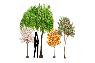 Trees and Natural Hedging