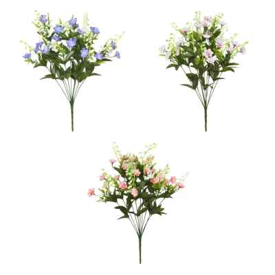 46CM LILY OF THE VALLEY BLOSSOM X 10 BOUQUET