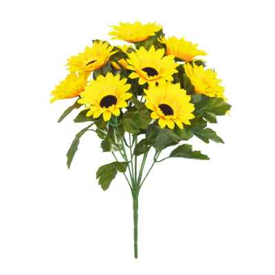 42CM SUNFLOWER X 10 BOUQUET