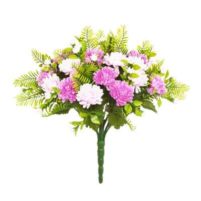 34CM CHRYSANTHEMUM FERN X 22 BOUQUET