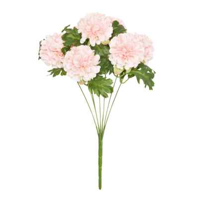45CM LIGHT PINK CHRYSANTHEMUM X 7 BOUQUET