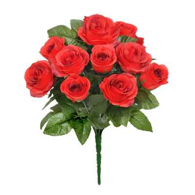 32CM RED ROSE X 13 BOUQUET