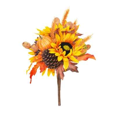 40CM AUTUMN BOUQUET HAND WRAPPED