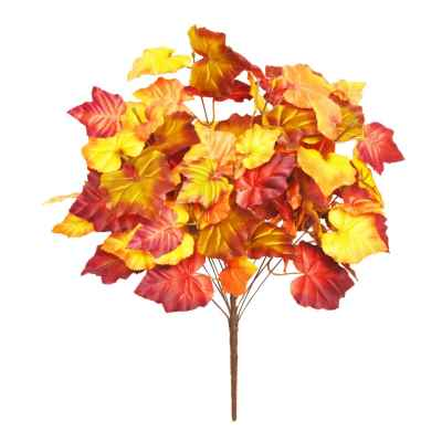 56CM AUTUMN LEAF BUSH X 14