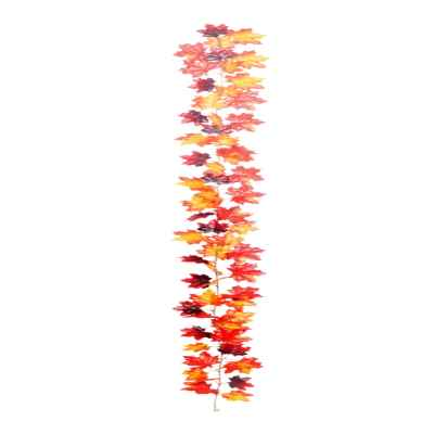 180CM RED MAPLE LEAF GARLAND X 60