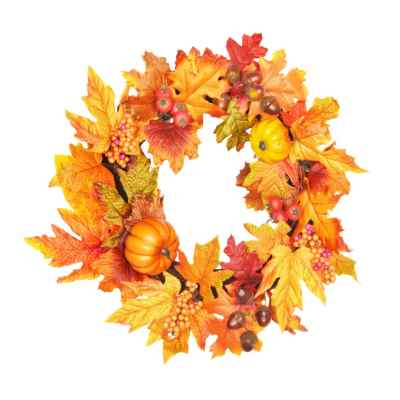 40CM AUTUMNAL WREATH