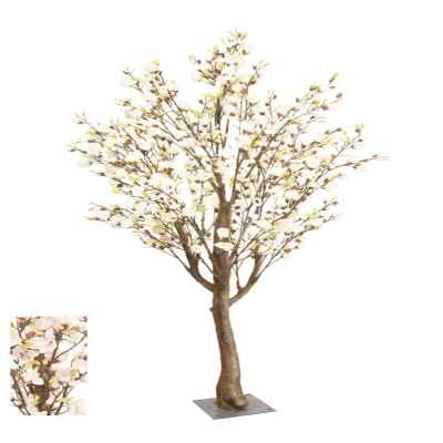 300CM CREAM MAGNOLIA TREE (ARTIFICIAL TRUNK)