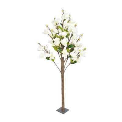 180CM CREAM MAGNOLIA TREE (ARTIFICIAL TRUNK)