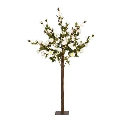 140CM CREAM ROSE TREE