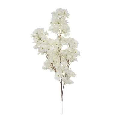 73CM WHITE CHERRY BLOSSOM X 108 BRANCH