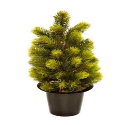 35CM MINI CHRISTMAS TREE GRAVE POT